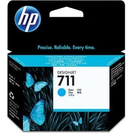 CZ130A  HP 711 Cyan Ink Cartridge